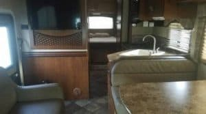 2014 Thor Motor Coach chateau kitchen