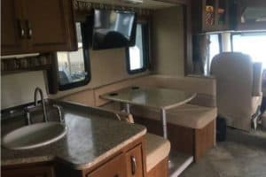 2015 thor ace RV kitchen