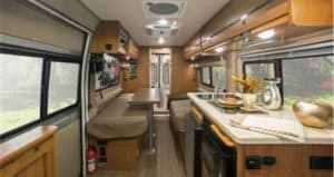 2018 Winnebago Travato inside