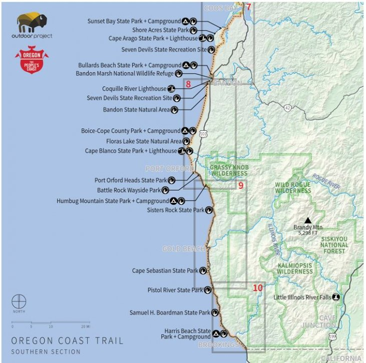 Can You Camp On Oregon Beaches Includes Maps And
